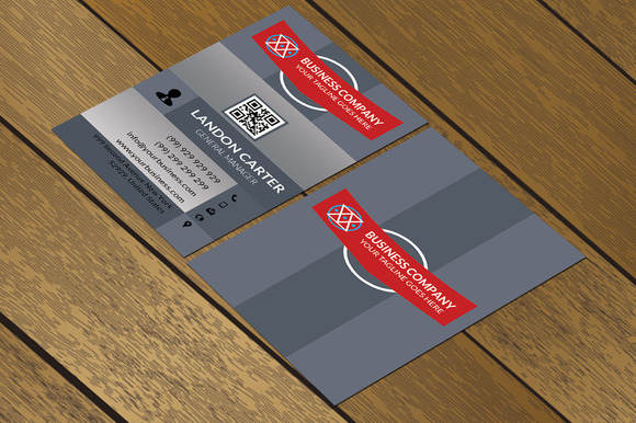 CT075 Corporate Business Card