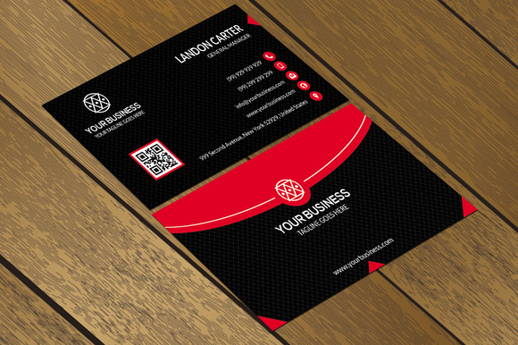 CT078 Corporate Business Card