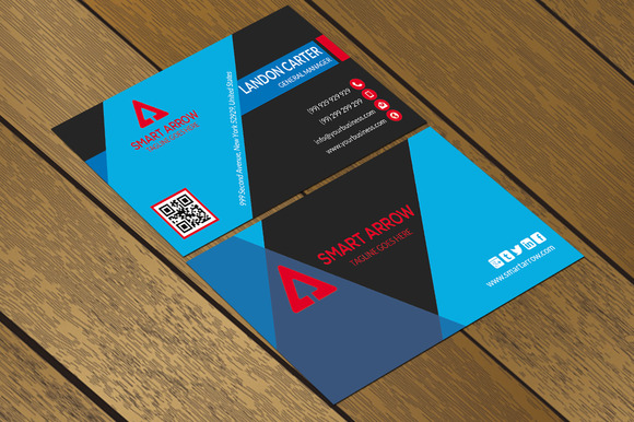 CT082 Corporate Business Card