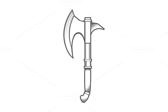 Battle Axe Isolated