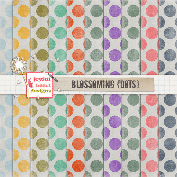 Blossoming {dots} 20% Off