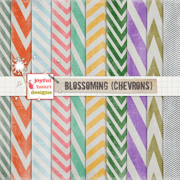 Blossoming {chevrons} 20% Off