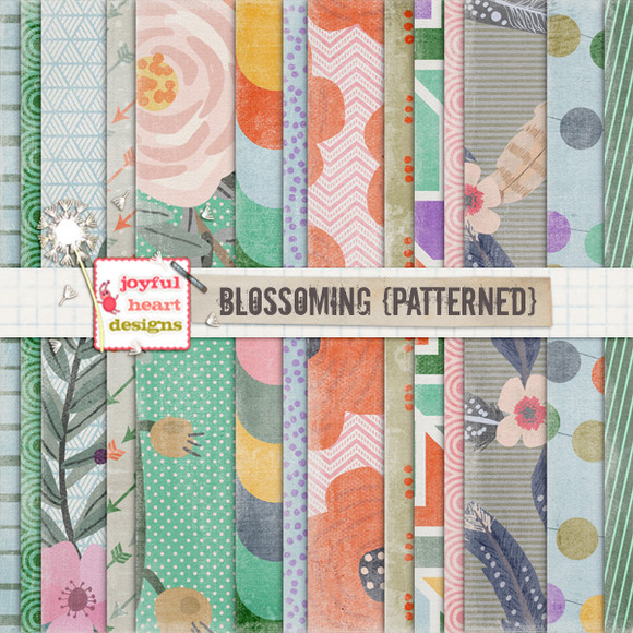 Blossoming {patterned} 20% Off