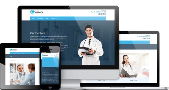 Medica Pro Health WordPress Theme