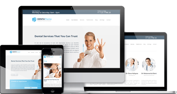 Denta Theme Dentists WordPress The