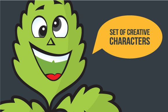 8 Creative Vector Characters