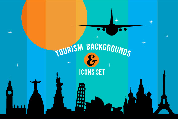 Travel Tourism Background