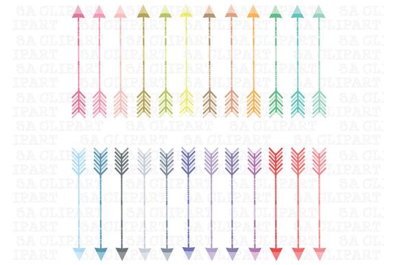 24 Arrows Clipart