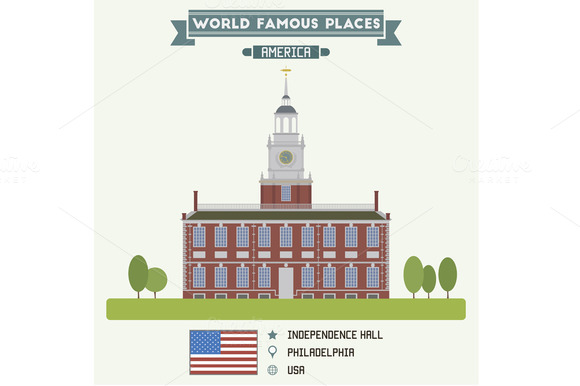 Independence Hall Philadelphia USA