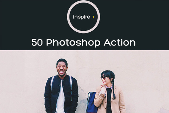 Inspire 50 Photoshop Actions