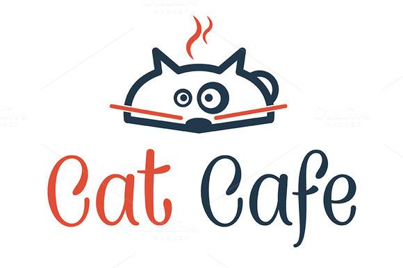 Logo Cat Cafe