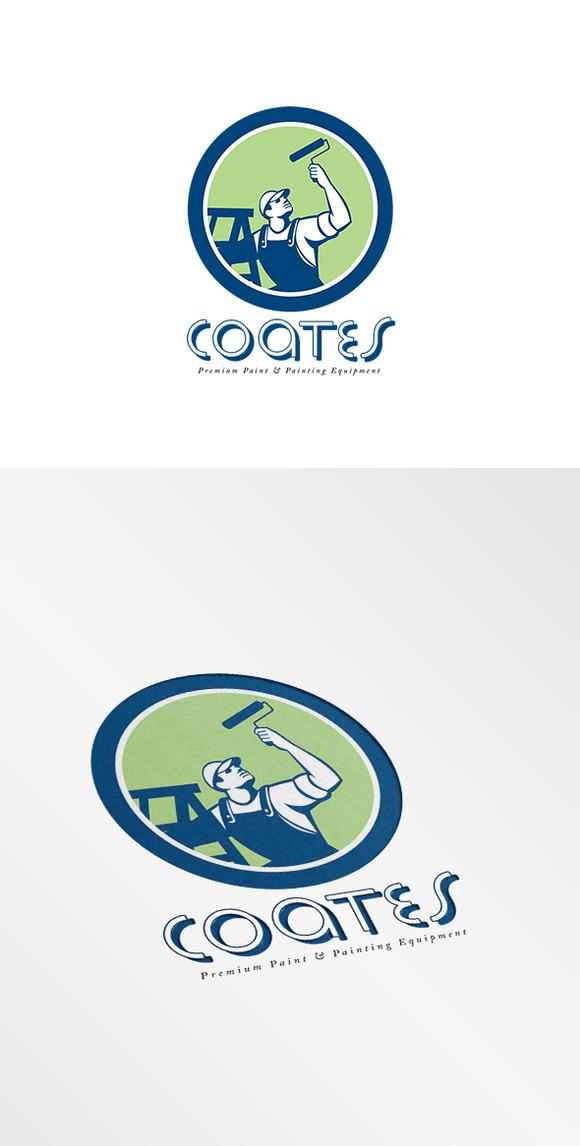 Coates Premium Painters Logo