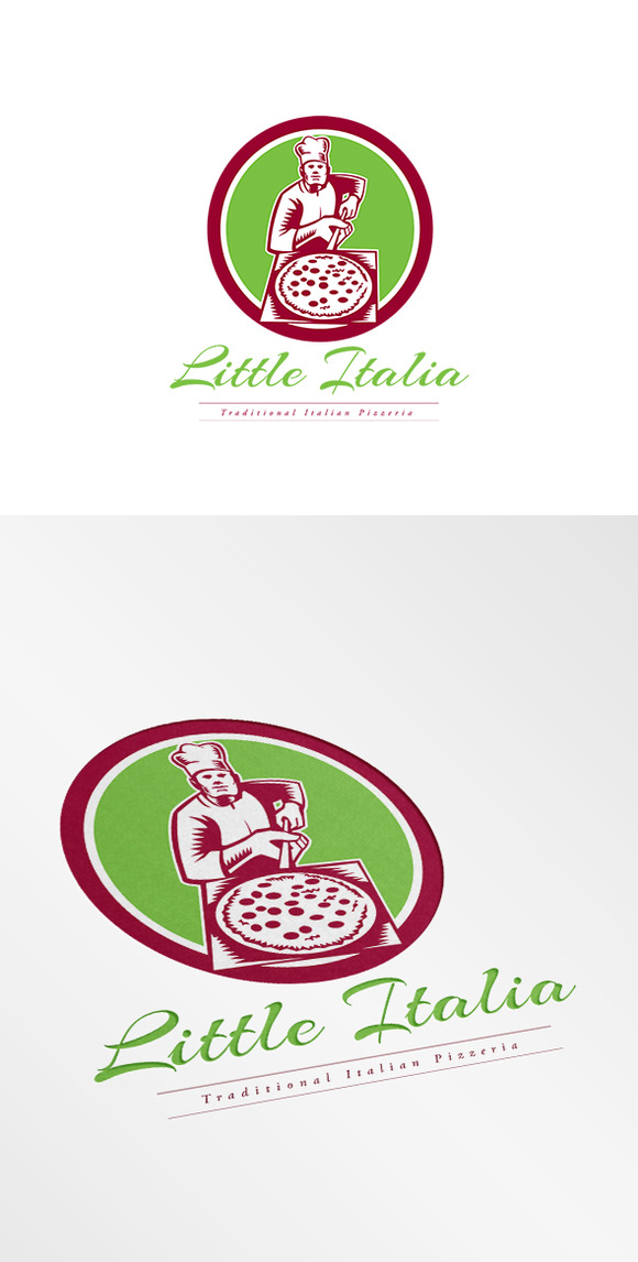 Little Italia Pizza Logo