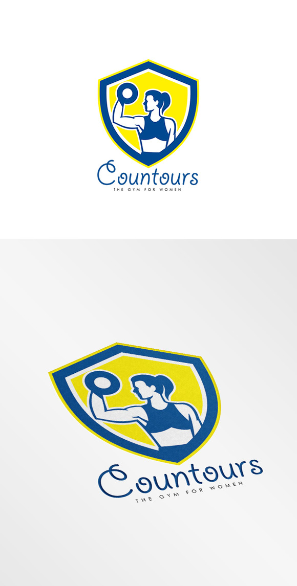 Contours Gym For Women Logo