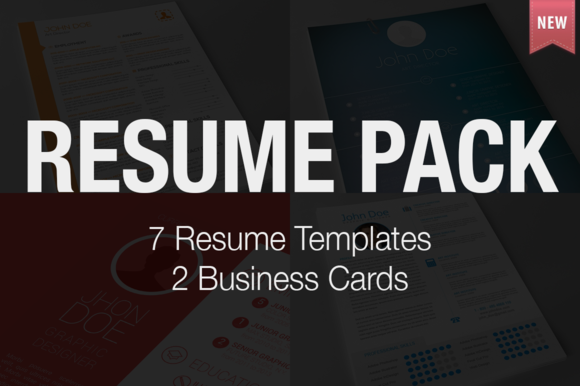 Resume Pack 7 Templates Bonus