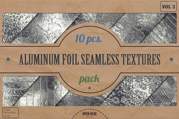 Aluminum Foil HD Textures Pack V.3