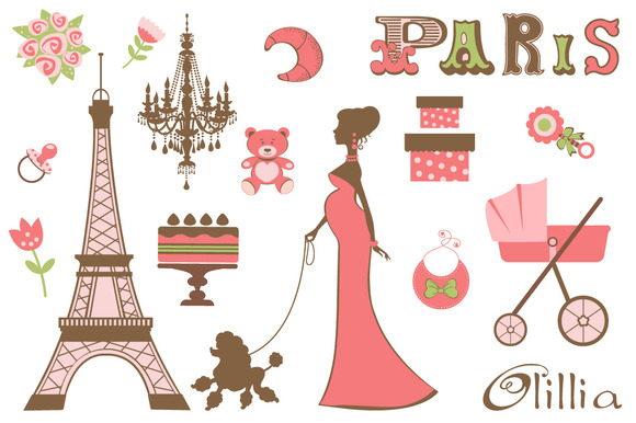 Baby Shower Parisienne