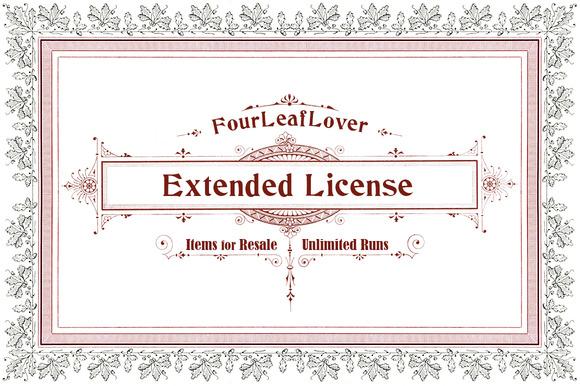 FourLeafLover Extended License
