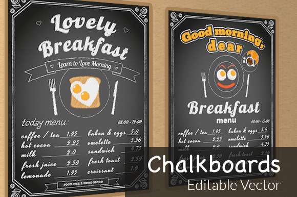 Two Vector Chalkboards