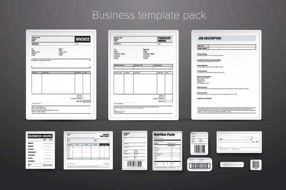 Business Template Pack