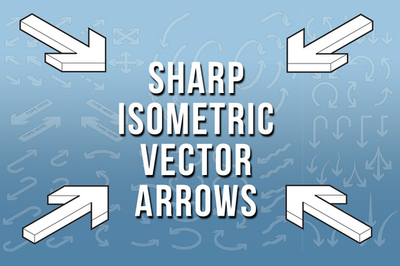 Sharp Isometric Vector Arrows