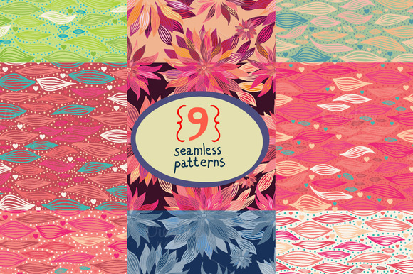 9 Beautiful Abstract Patterns