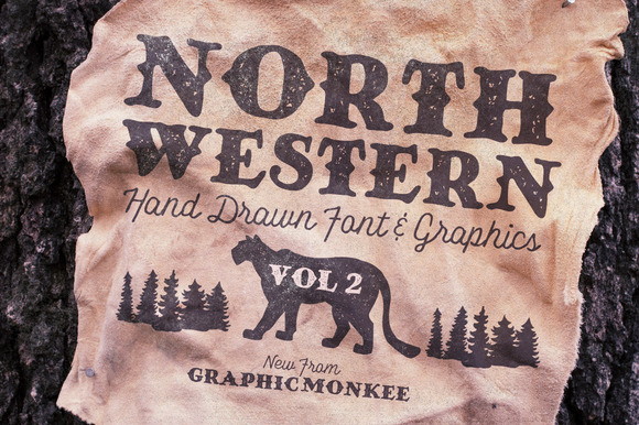 North Western Font Vectors Vol 2