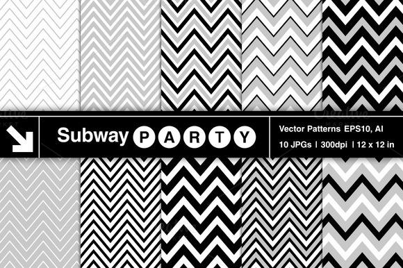 Vector Chevron Patterns
