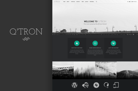 Q Tron WordPress Theme