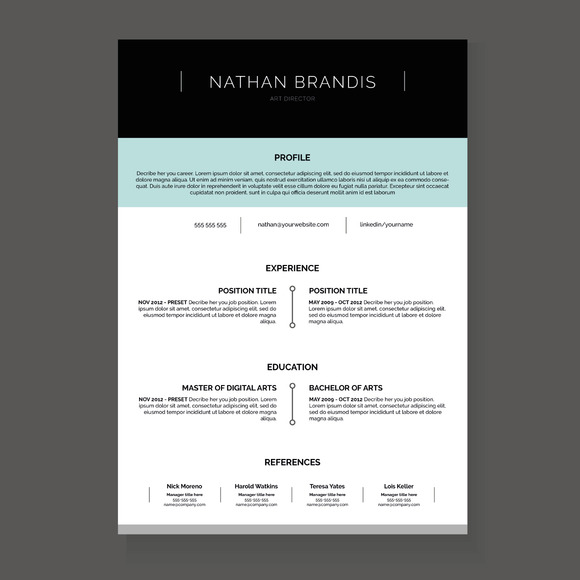 Resume CV Cover Letter Pack