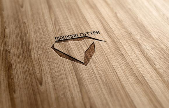 Diamond Cutter Logo Design