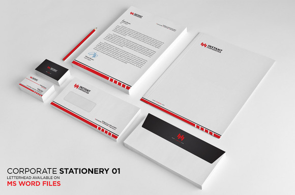 Simple Clean Stationery 1