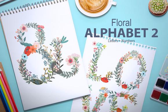 Floral Alphabet II