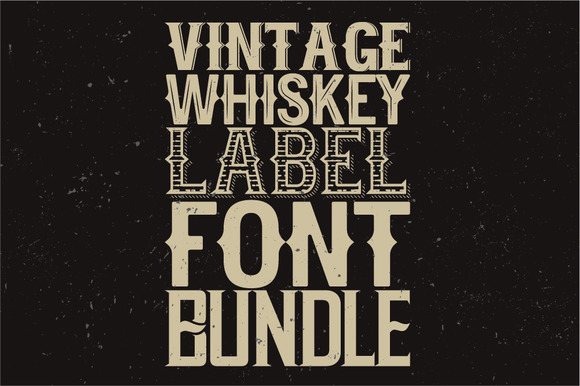 Whiskey Fonts BUNDLE