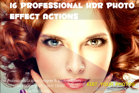16 Professional HDR Photo Effect Act