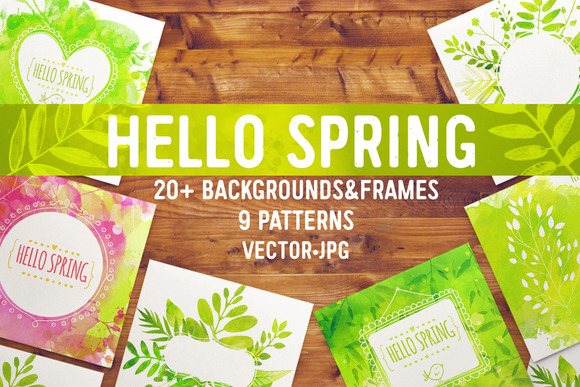 Spring Backgrounds And Patterns