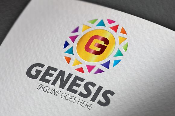 Genesis G Letter Logo