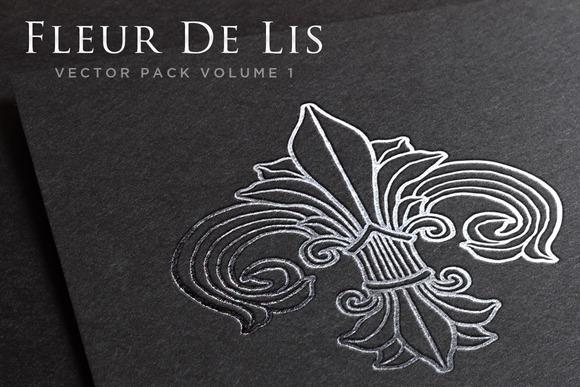 Fleur De Lis Vector Pack Volume 1