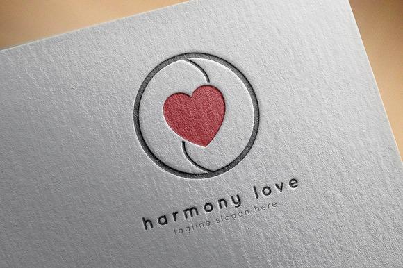 Harmony Love Logo