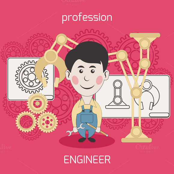 Architect Constructor Worker