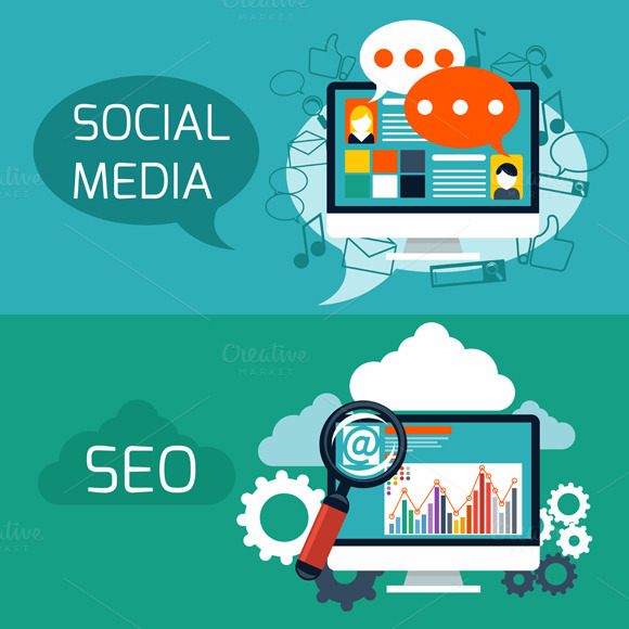 Concept For Seo And Social Media