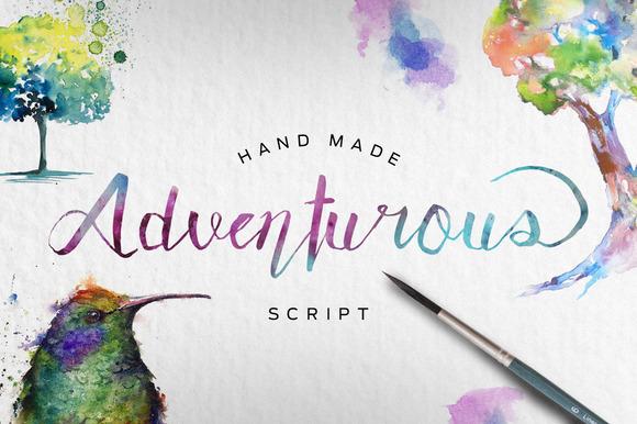 Adventurous Script