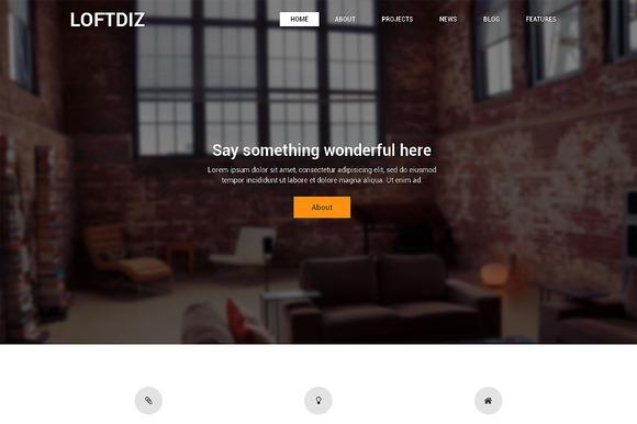 Loftdiz Premium WordPress Theme
