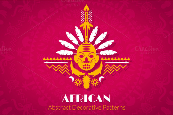 African Abstract Decorative Patterns
