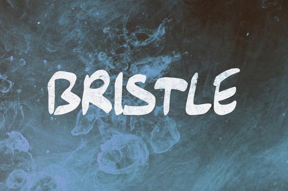 Bristle Hand Drawn Font