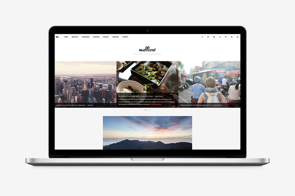 Mellow WordPress Blog Theme