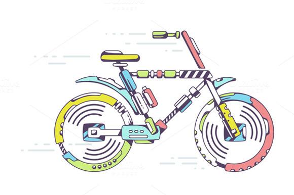 Unique Mountain Bicycle