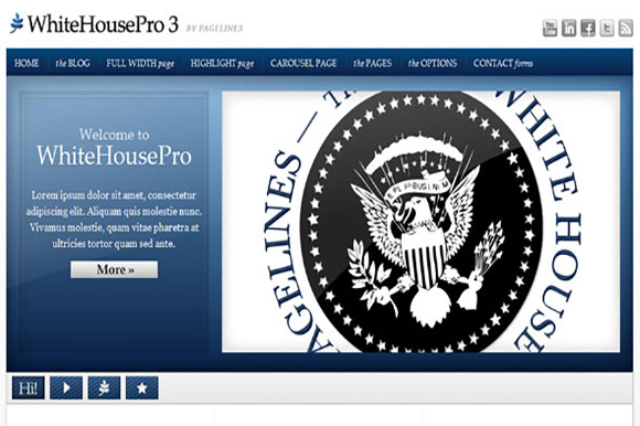 WHITEHOUSEPRO 3 PAGELINES THEME