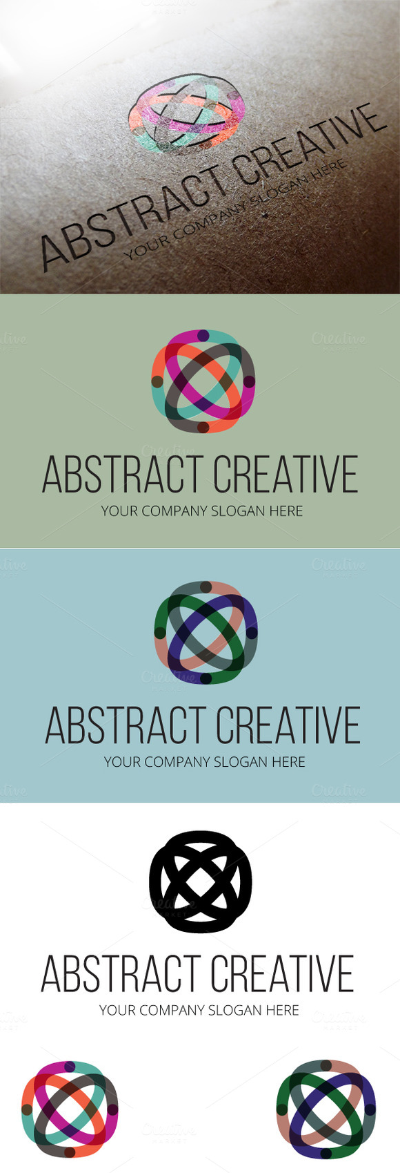 Abstract Creative Logo Template