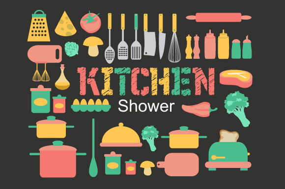 Kitchen Shower Icons
